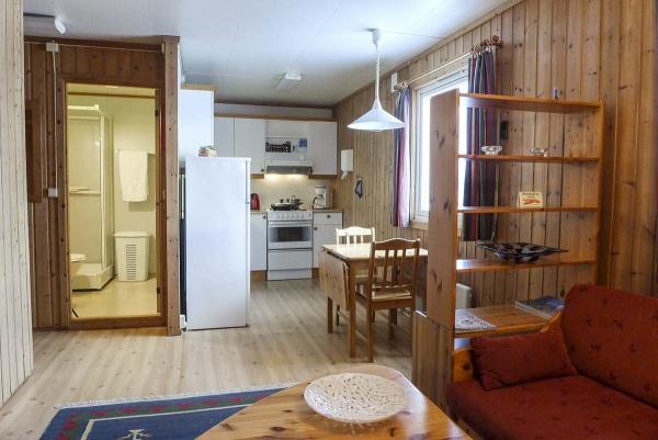 Berlevåg pensjonat stue i leilighet